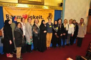 Die Frauen des Netzwerkes beim Begegnungstag 2015