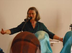 Antje Heider-Rottwilm beim Vortrag